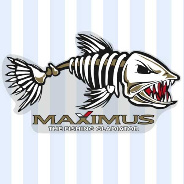 Наклейки Максимус Рыба 150 85 мм