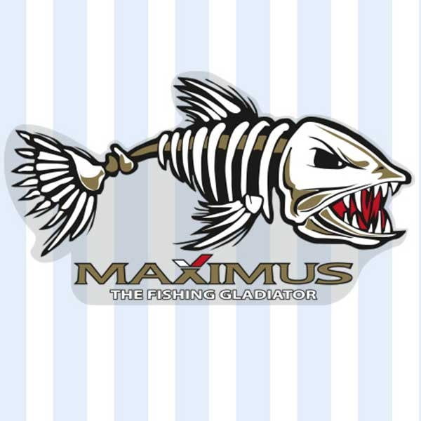 Наклейки Максимус Рыба 295x165 мм